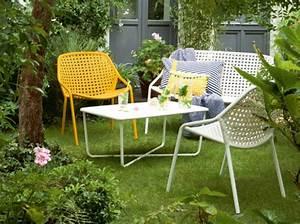 tendance salon de jardin ete pamela gallart With salon de jardin fermob