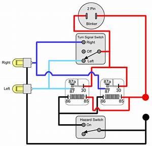 Turn Signal Relay Flasher Wiring Diagram