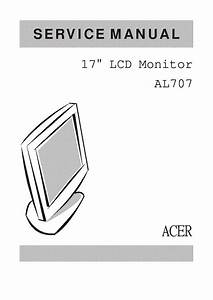 Acer Al707 Lcd Monitor Service Manual Service Manual
