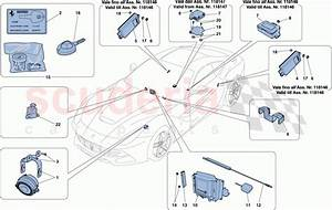 Ferrari F12 Berlinetta Antitheft System Parts
