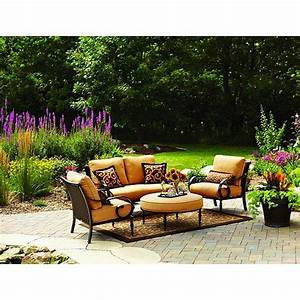 Better homes and gardens englewood heights 4 piece outdoor for Patio furniture covers amazon ca
