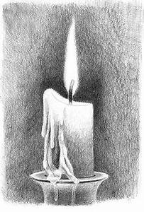 Pencil Sketch Of Lovers Idiots Guide On How To Draw A Candle And Flame With