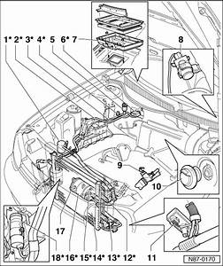 Volkswagen Workshop Manuals  U0026gt  Golf Mk4  U0026gt  Heating