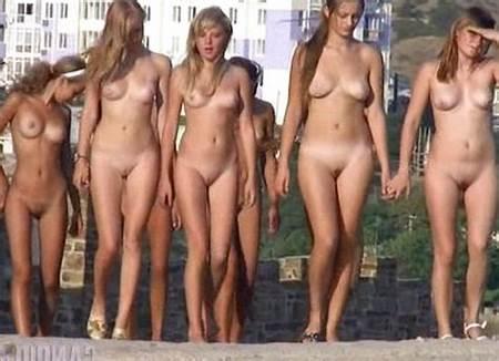 Nude Group Teen