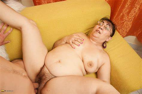 Perky Granny And Her Boytoy Plump Mama Banged Her Lover Vibrator