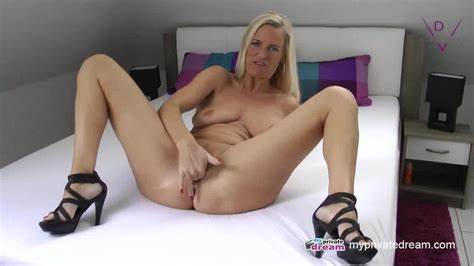 German Shemale Viktoria Jerk Off And Licked