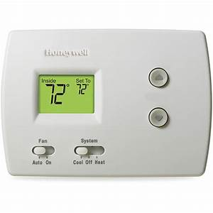 Honeywell Pro Series Thermostat Manual