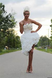toilet paper wedding dress contest winners revealed With toilet paper wedding dress contest