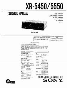 Sony Cdx C410 Wiring Diagram