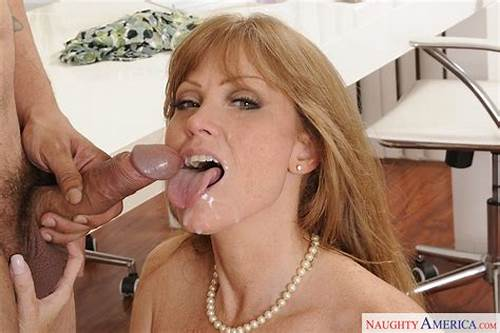 Canadian Milf Get Ginger Cum Swallow