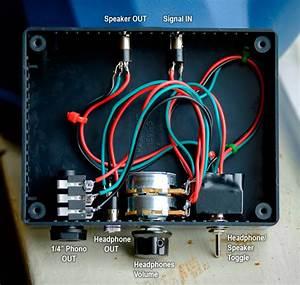 Wiring Diagram 4 Headphone Wires