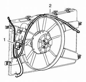 Repair Instructions - Engine Coolant Fan Shroud Replacement  2 0l Lhu