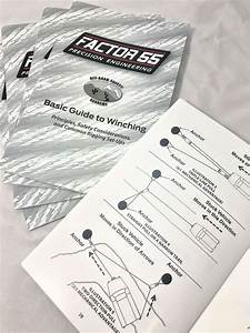 Basic Guide To Winching Manual  U2013 Factor 55