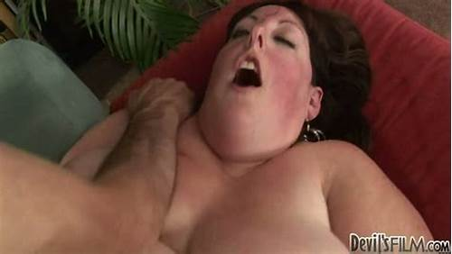 Long Boobed Bbw Uses Her Butt To Please A Plumper Coc