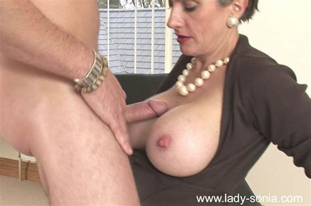 #Busty #Mature #Babe #Gives #A #Blowjob #And #Gets #Her #Trimmed