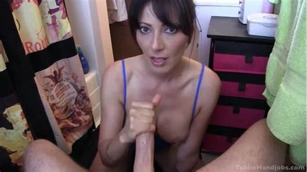 #Mom #Catches #Son #Wanking #And #Helps #With #A #Deepthroat