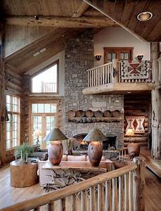 55, Airy, And, Cozy, Rustic, Living, Room, Designs