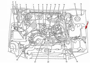 1998 Subaru Outback Engine Diagram