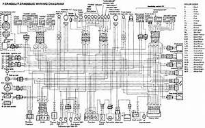 Yamaha Fzr400 Fzr400suc Wiring Diagram  U2013 Evan Fell
