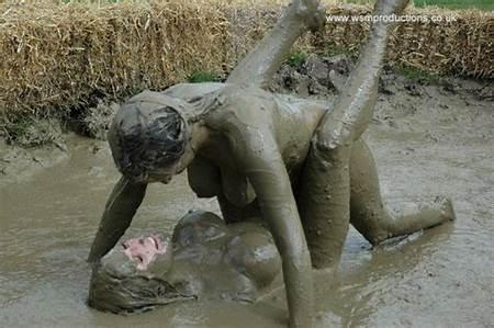 With Teen Wrestling Guys Girls Nude Mud