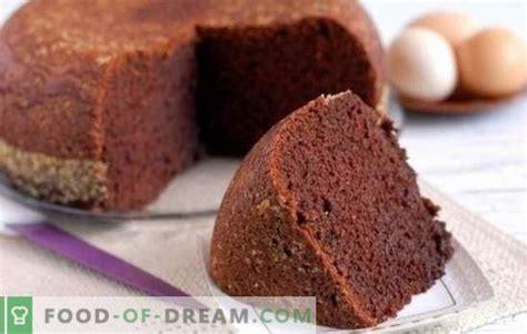Kakao sūkļa kūka - šokolādes pasaka! Mājas receptes kakao ...