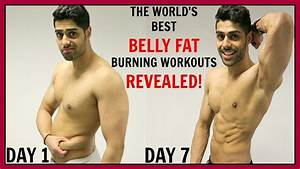 Best Workout To Reduce Belly Fat In 1 Week - 100  Works