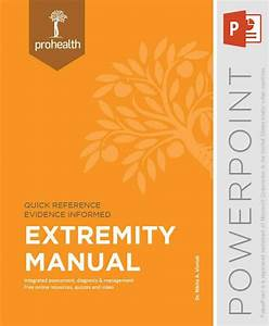 Extremity Manual - Powerpoint By Body Region