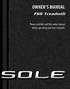 Sole F60 Owners Manual Manualslib Makes It Easy To Find