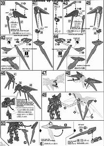 Hg Gundam Exia Dark Matter English Manual  U0026 Color Guide