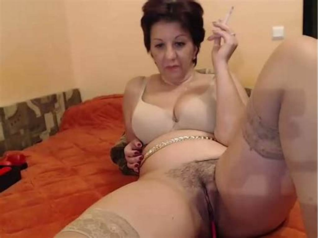 #This #Old #Woman #With #Saggy #Tits #Is #One #Trashy #Webcam #Model