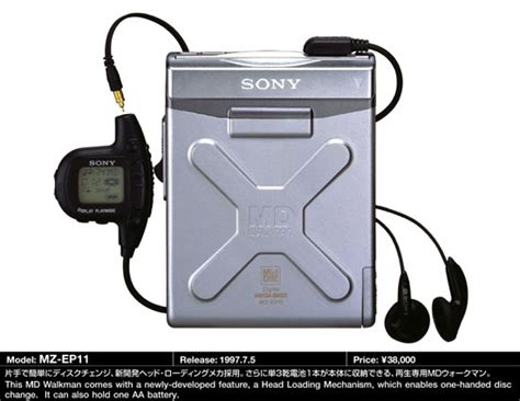 MD Community Page: Sony MZ-EP10/EP11