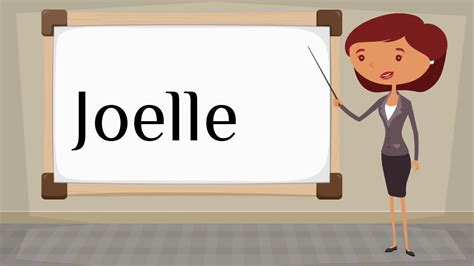 This page provides all possible translations of the word bedroom in the spanish language. How do you say 'Joelle' in Spanish? - YouTube