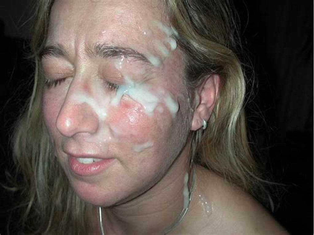 #Face #Covered #With #Cum