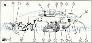 Lucas Alternator    Starter Motor Diagrams