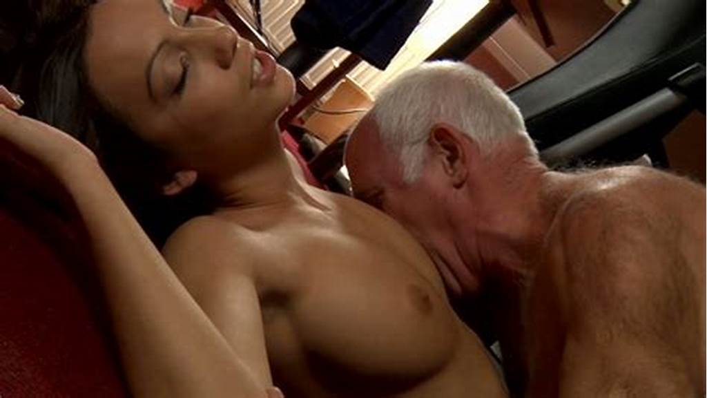 #Wrinkled #Old #Man #Eats #And #Fucks #Soaking #Tight #Pussy #Of