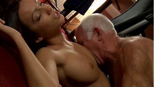 Naughty Teen Curly Having Botheration Fucking #Old #Man #Sucking #Pussy