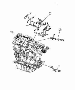 2011 Dodge Nitro Wiring  Transmission Jumper  Engine