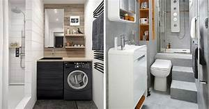 delightful idee deco salle de bain petite surface 8 With decoration salle de bain petite surface