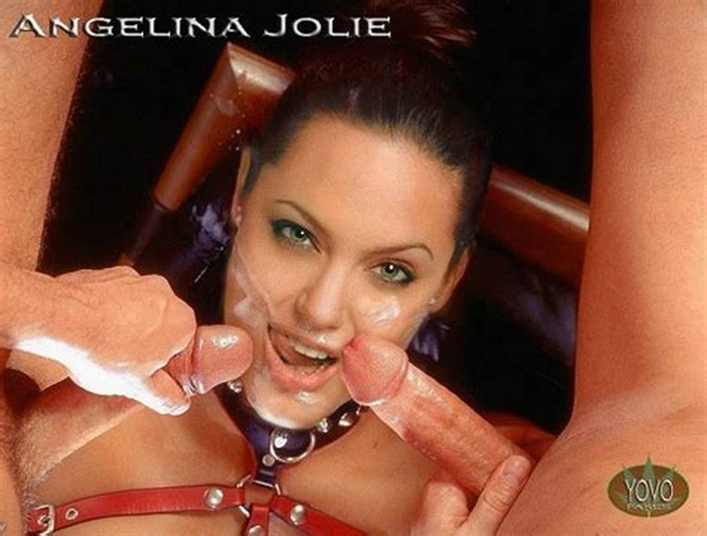 #Angelina #Jolie #Riding #A #Cock #While #Giving #Two #Guys #A
