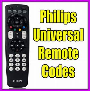 Philips Universal Remote Codes Manual Programming Instructions