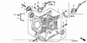Honda Engines Gx200ut Qx2 Engine  Tha  Vin  Gcaht