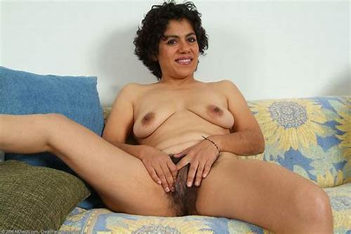 Hairy Vintage Mexican Mature