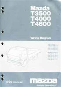 Mazda T Series  Wg  06  1995 Wiring Diagram Manual T3500