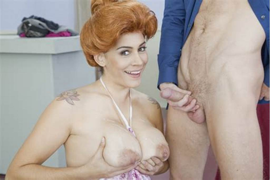#Redhead #Milf #Raylene #Loves #Cum #All #Over #Her #Tits