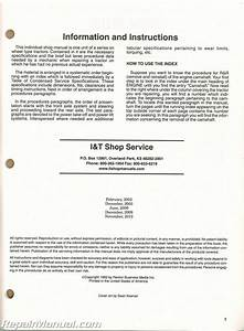 John Deere 4030 4230 4430 4630 Tractor Workshop Manual