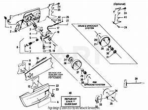 Poulan 8500 Gas Saw Parts Diagram For Clutch  U0026 Oil Pump