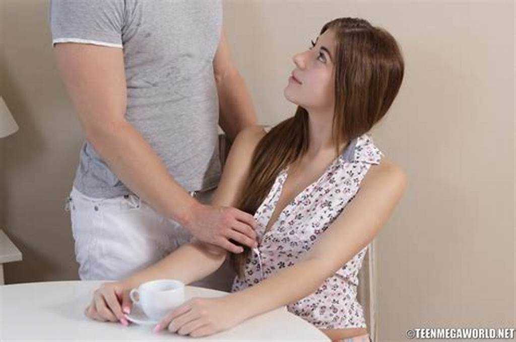 #Teenage #Hottie #Impaled #On #Huge #Dick