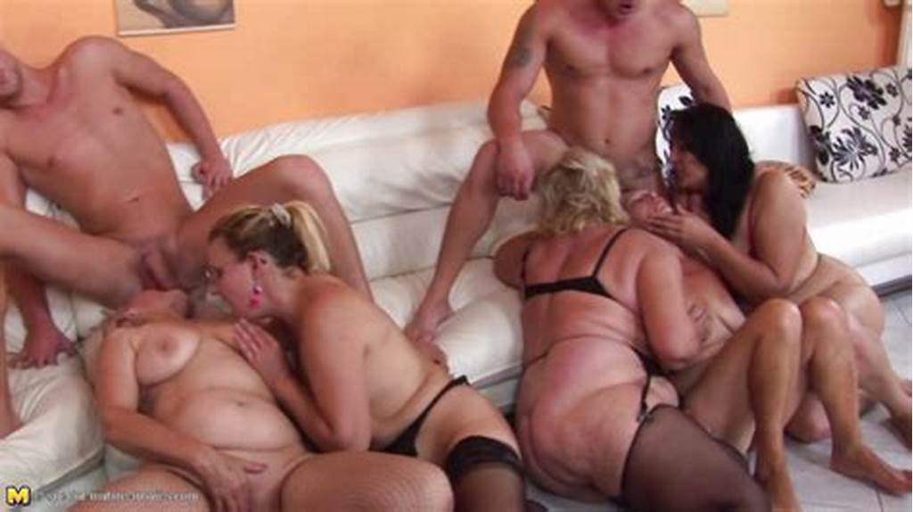 #Group #Of #Mature #Women #Enjoy #Steamy #Orgy