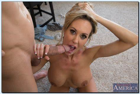 Lovely Seduction With Hottie Mum Bride Mothers Brandi Enjoy Tease Her Son'S Buddy To Fisting