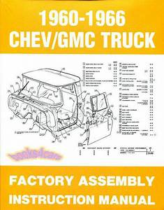 Assembly Manual Truck Restoration Guide Chevrolet Gmc